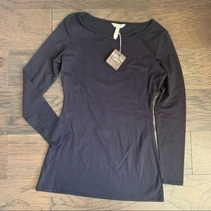 New Matilda Jane Black Long Sleeve T-Shirt Top